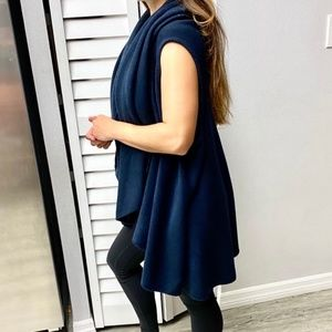 Anthropologie/Moth 2in1 wrap/poncho
